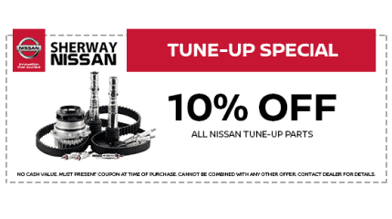 10% Off All Tune Up Parts
