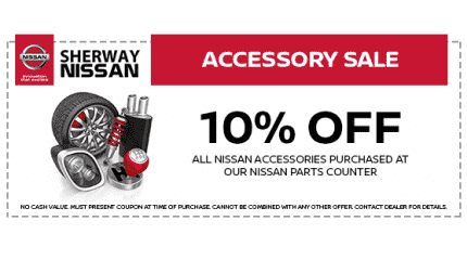 10% Off All Nissan Accessories