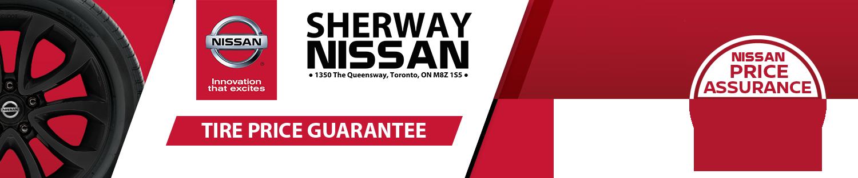 Nissan Tire Price Guarantee Sherway Nissan Etobicoke