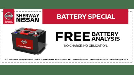 Free Battery Analysis