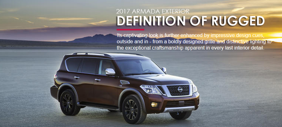 the all new 2017 armada exterior