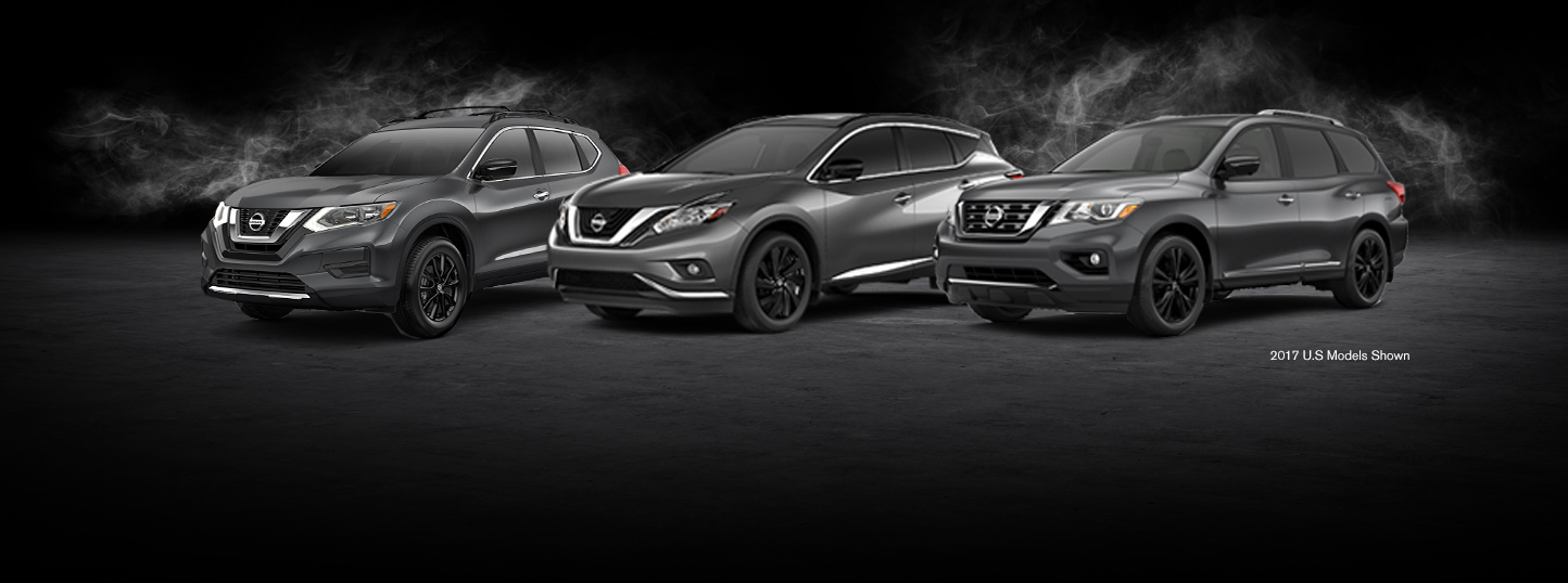2018-nissan-midnight-edition-suv-crossover-lineup