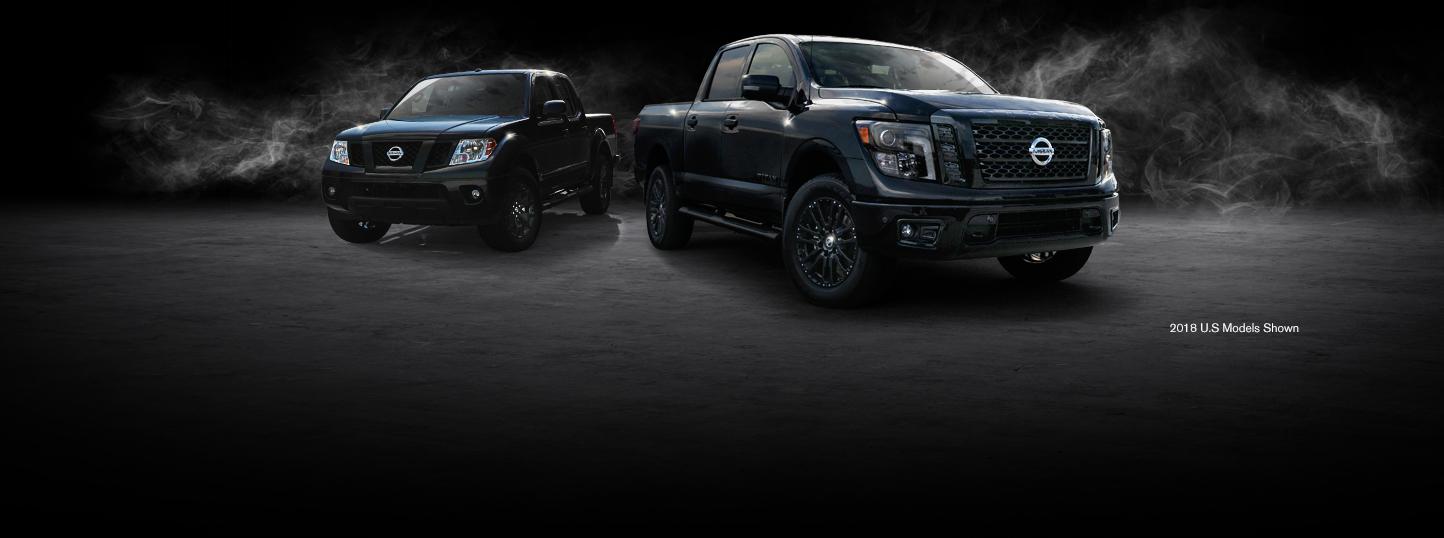 2018-nissan-frontier-midnight-edition-truck-lineup