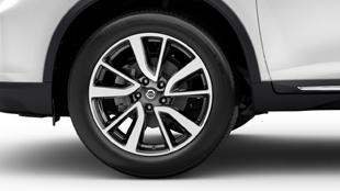 nissan-rogue-19-inch-aluminum-alloy-wheels