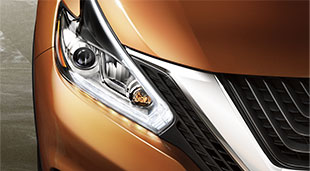nissan-murano-crossover-pacific-sunrise-LED-headlights-daytime-running